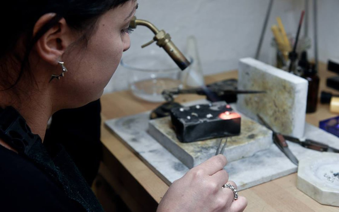Video About The Designer by Julie Nicaisse Jewellery Designer in London