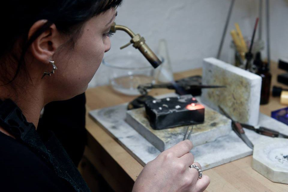 Story - Julie Nicaisse Jewellery Designer in London