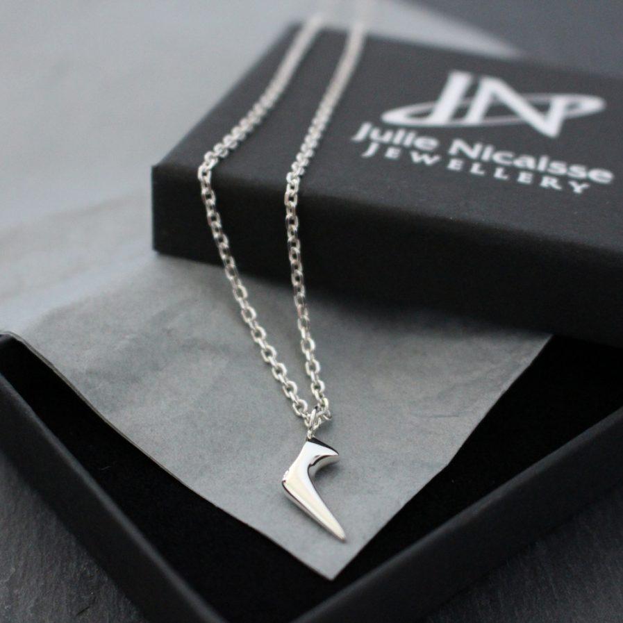 Silver Comet pendant Julie Nicaisse Jewellery Designer in London
