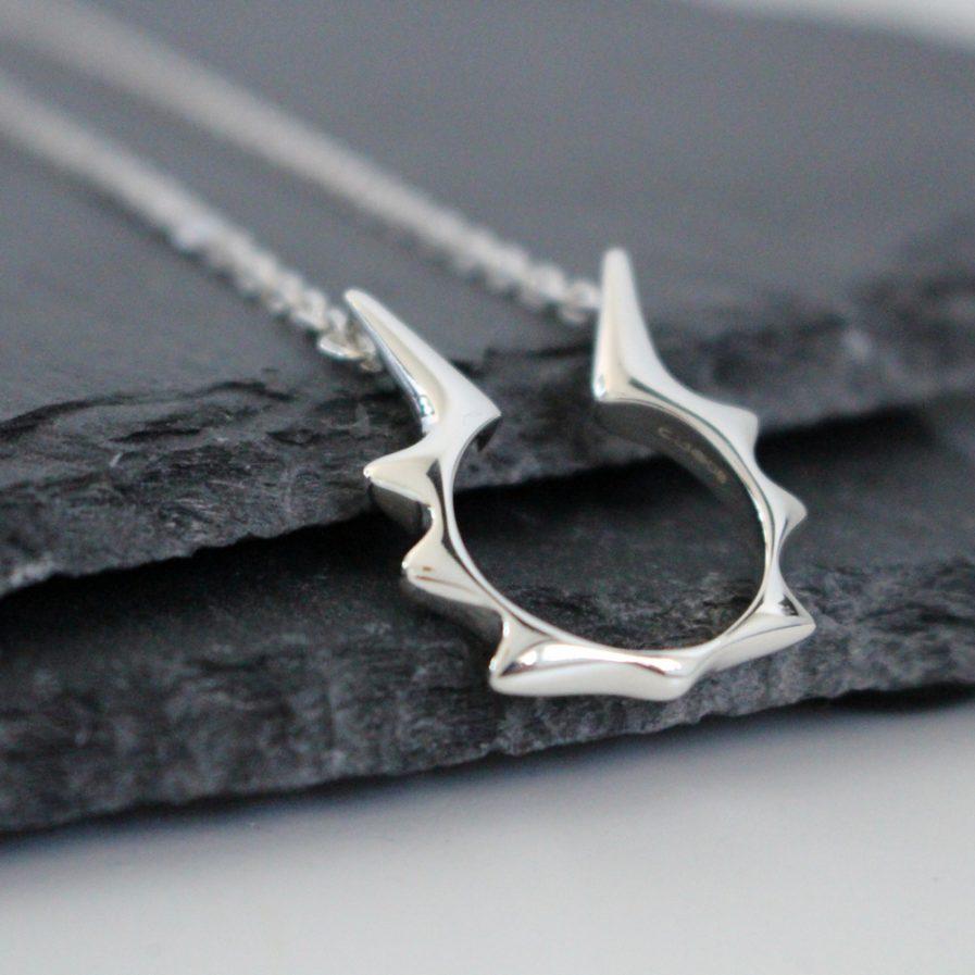 Falling star necklace Julie Nicaisse Jewellery Designer in London