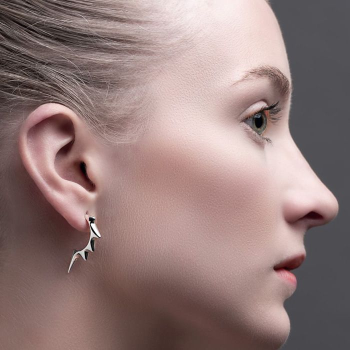 Earrings by Julie Nicaisse Jewellery Designer in London