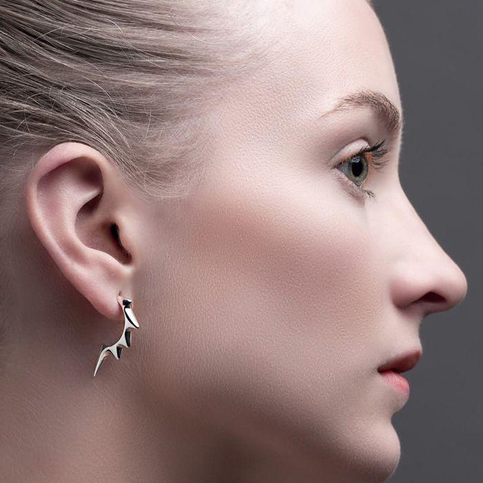 Earrings by Julie Nicaisse Jewellery Designer in London