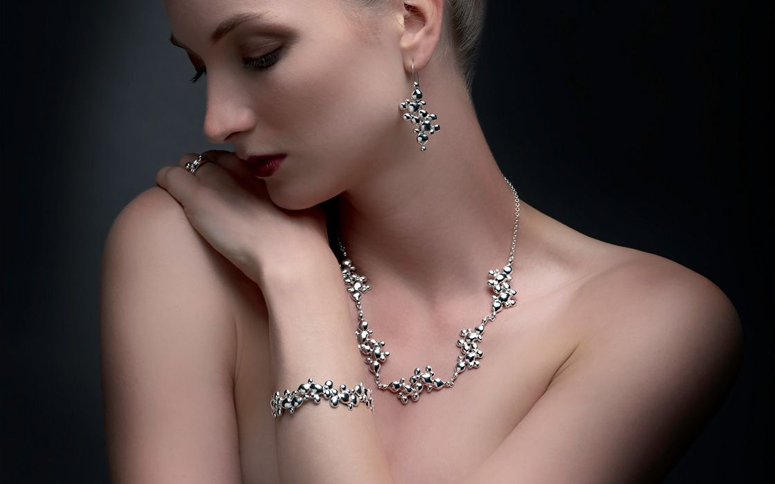 """Lava Flow"" Collection by Julie Nicaisse Jewellery Designer in London"