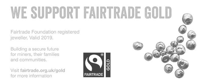 Julie Nicaisse Jewellery Designer in London - We Support Fairtrade Gold