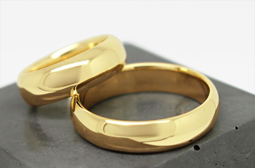 Wedding Rings - Matching by Julie Nicaisse Jewellery Designer in London